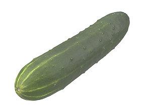 Photorealistic Cucumber 3D Scan