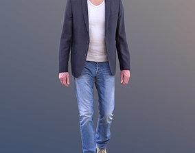 Lars 10421 - Walking Casual Man 3D asset