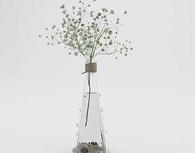 vase 3D potted plant