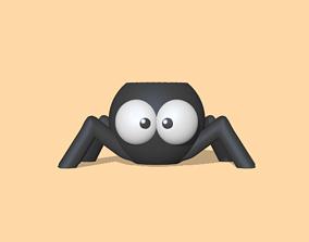 3D print model Halloween - Spider pot