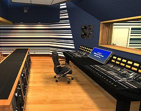 3D model Recording Studio