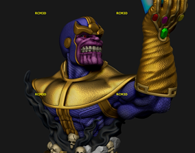 3D printable model Bust Thanos Avangers