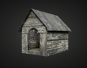 3D model Dog House Game ready