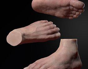 Foot Zbrush 3D printable model