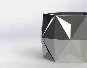 3D printable model GEOMETRIC PLANTER