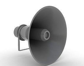 3D model loudspeaker handheld