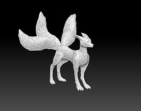 Fox Kitsune 3D print model