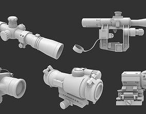 3D Scope Collection - High poly