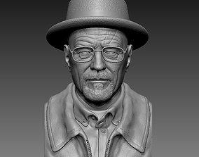 Walter White AKA Bryan Cranston 3D Printable Model