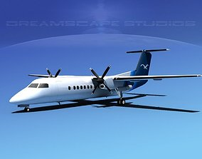 DeHavilland DHC-8-Q300 Corporate 2 3D model
