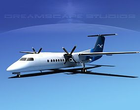 DeHavilland DHC-8-Q300 Corporate 2 3D model