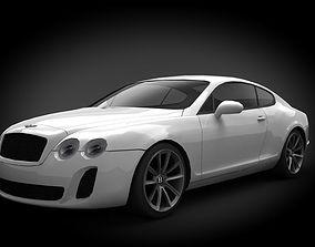 3D model Bentley Continental GT