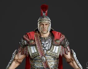 Ancient Roman generals Consul commander Caesar 3D asset 1