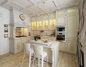 Kitchen Neoclassic 3D