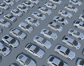 3D asset Cars Pack 60 Low Poly Cars