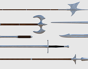 Medieval Weapons Pack - Game Ready 3D asset