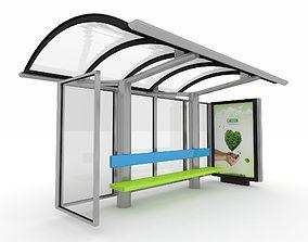 Bus Station transit 3D