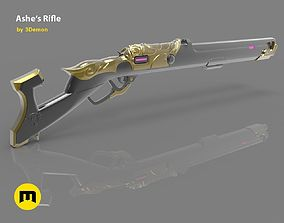 Ashe Rifle Overwatch - The Viper - 3D printable model