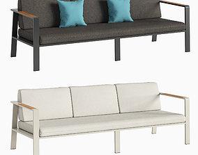 Triple sofa NOFI 3D