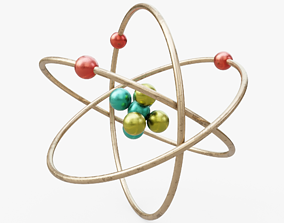 3D model Atom Visualization
