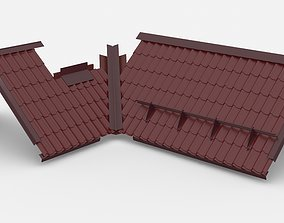 roofing roof 3D