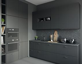 Kitchen IKEA Kungsbacka 3D model