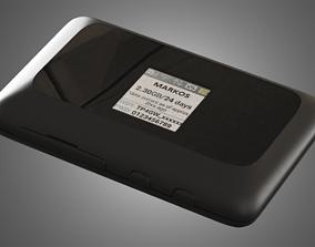 3D ZTE MF910 LTE MOBILE WIFI - Internet Device 3d
