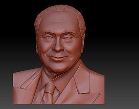 3D print model Silvio Berlusconi