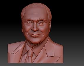 Silvio Berlusconi 3D printable model