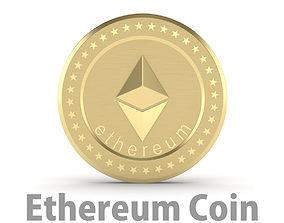 Ethereum Coin 3D