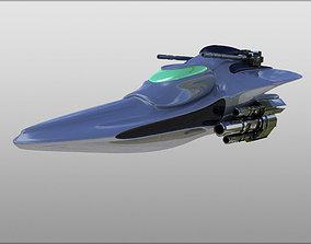 Combat Spaceship 3D model