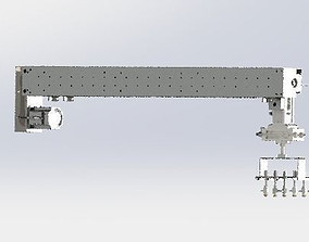 3D A suction device containing x-axis tool and cyliner