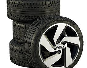 Volkswagen wheels 3D model