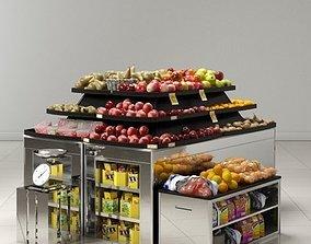 3D model store fixtures 11 am161