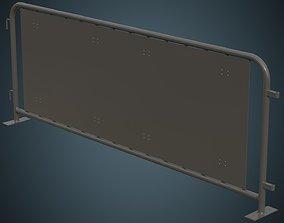 3D asset Crowd Barrier 5A