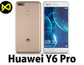 3D Huawei P9 Lite Mini - Y6 Pro 2017 Gold
