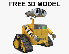 3D model fantasy Wall-E