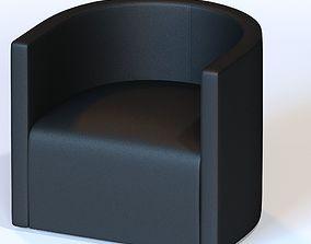 3D model Living Divani - Confident Chair