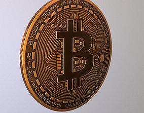 Bitcoin 2018 3D asset