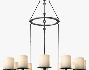 3D Holly Hunt Madiera Hanging Lamp