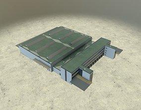 EDDB Hangar 2 3D model