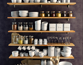 Kitchenware 3D model decor