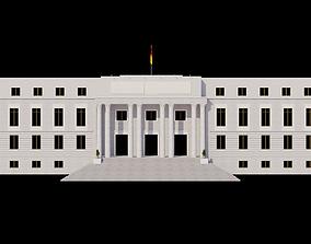 3D Edificio Building La Casa de Papel - Money Heist