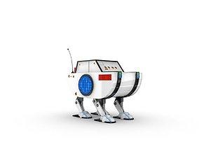 fantasy 3D model Funny Robot Character
