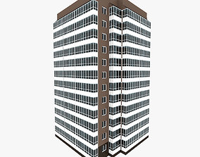 3D Simple Residential Building 7
