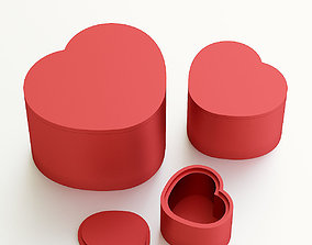 Heart box for gift 3D printable model