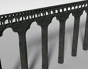 Aqueduct Section 3D asset