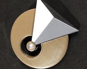 Star Trek Vulcan IDIC Badge 3D printable model
