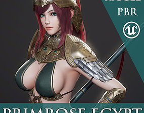 Primrose Egypt - Game Ready 3D model