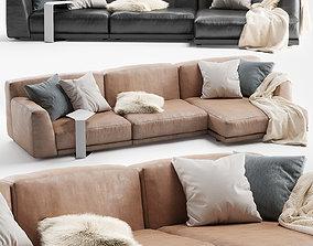 3D model Paris Seoul Sofa Chaise